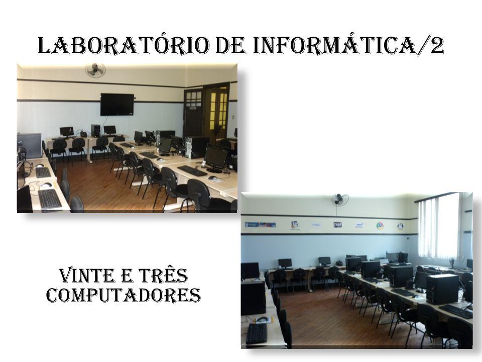Laboratório de informática/2 Vinte e três computadores