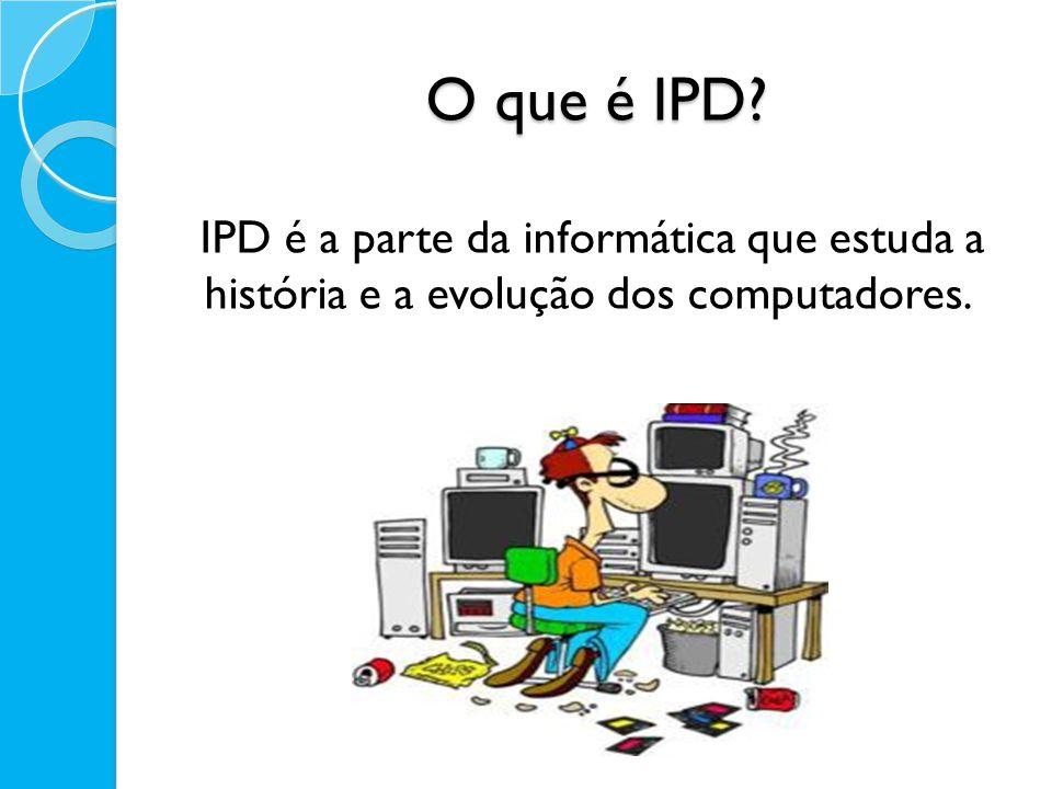 O que é Informática? Informática é a ciência que estuda o processamento de Informações.
