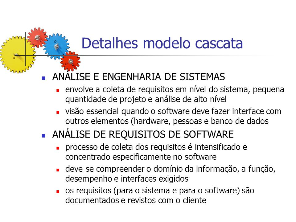 PROJETO se concentra em 4 atributos do programa: Estrutura de Dados, Arquitetura de Software, Detalhes Procedimentais e caracterização de Interfaces; tradução dos requisitos do software para um conjunto de representações que possam ser avaliadas quanto à qualidade, antes que a codificação se inicie.