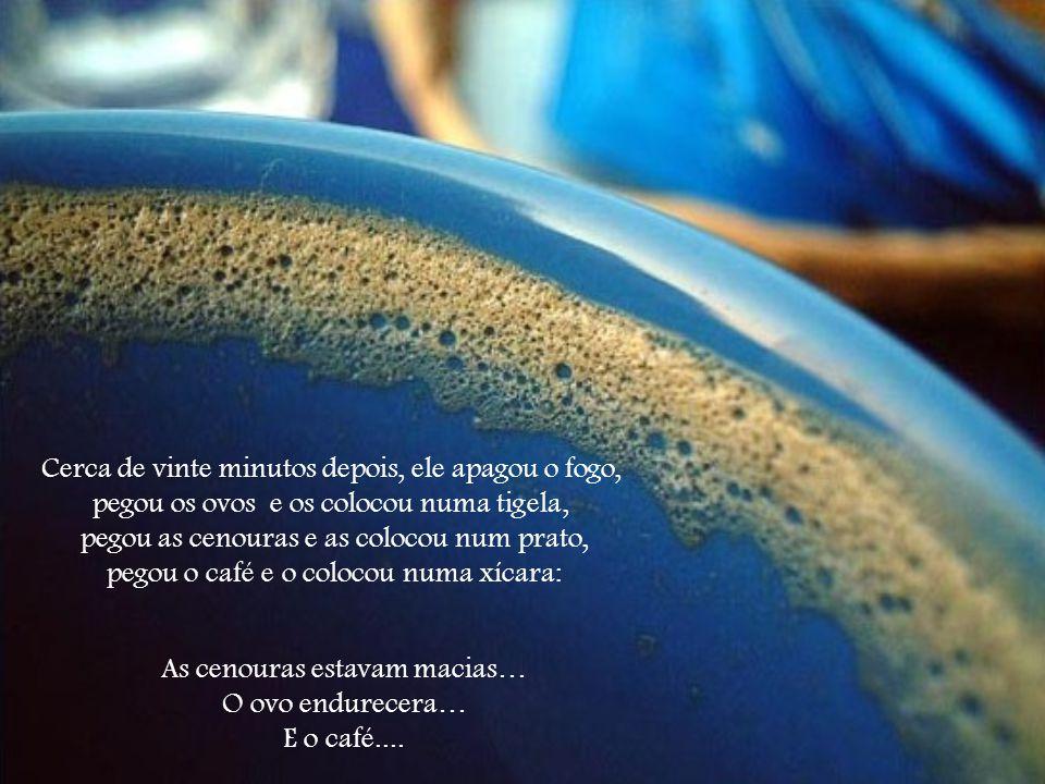 Procure ser CAFÉ, usando a hostilidade para modificar o sabor da vida com um aroma especial.