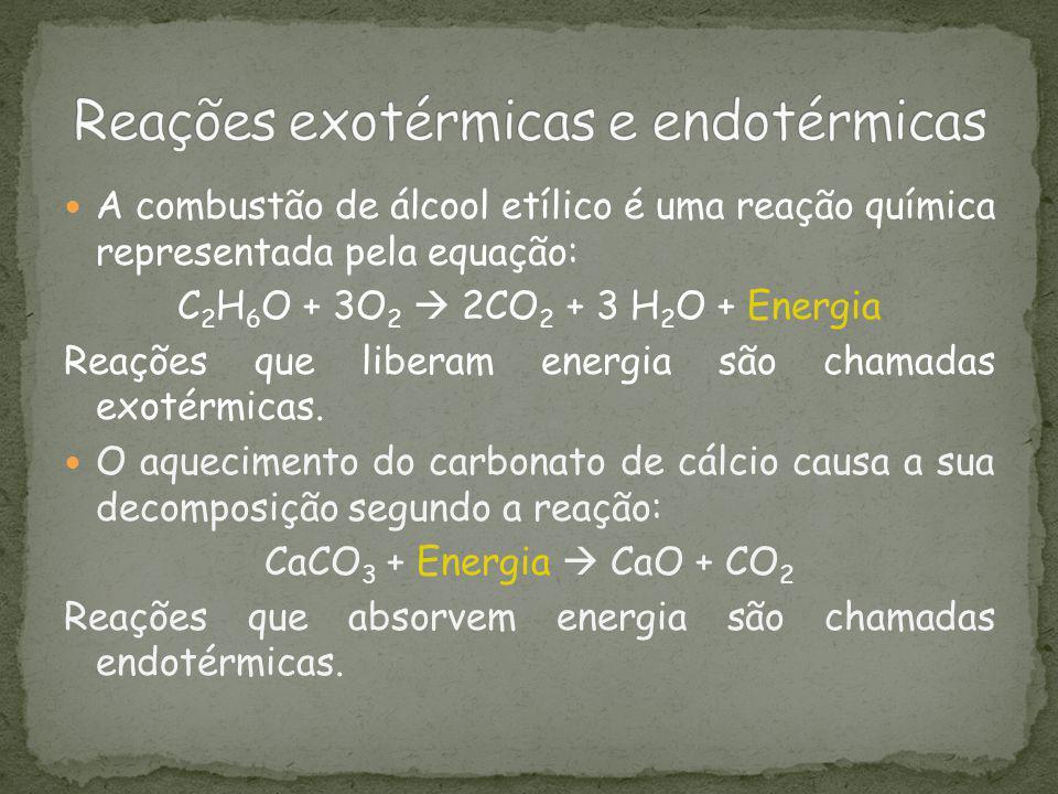 De onde vem a energia liberada e pra onde vai a energia absorvida .