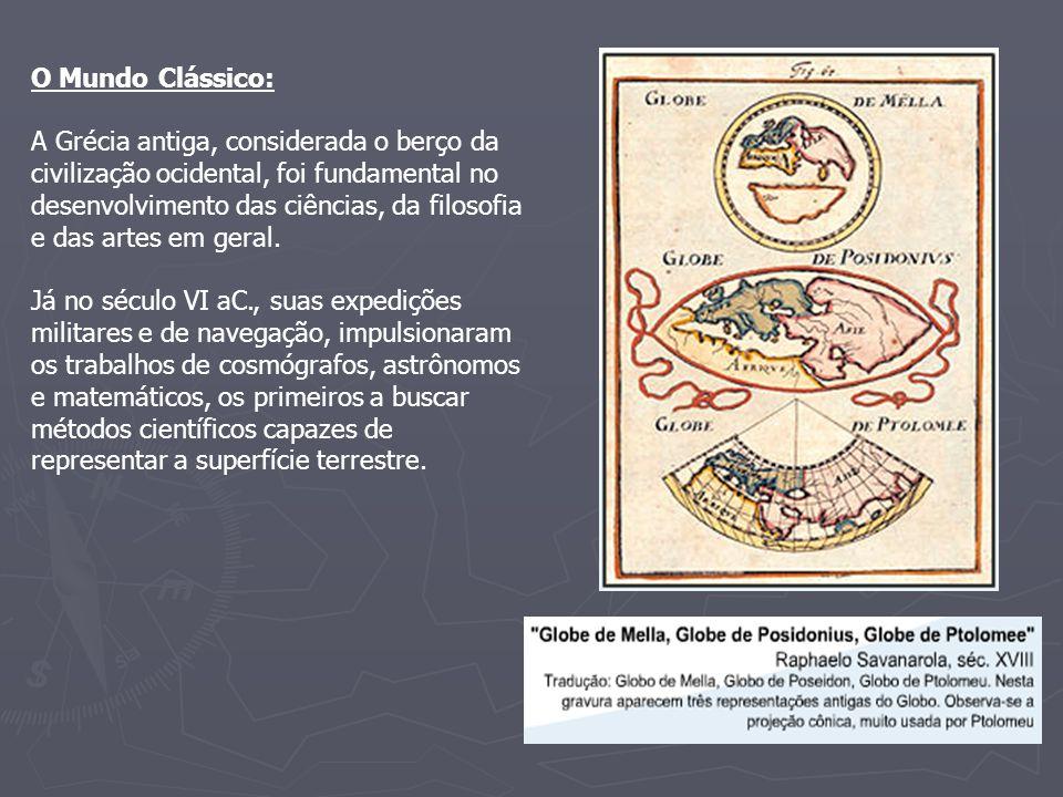 O Mundo Clássico: A Grécia antiga, considerada o berço da civilização ocidental, foi fundamental no desenvolvimento das ciências, da filosofia e das a