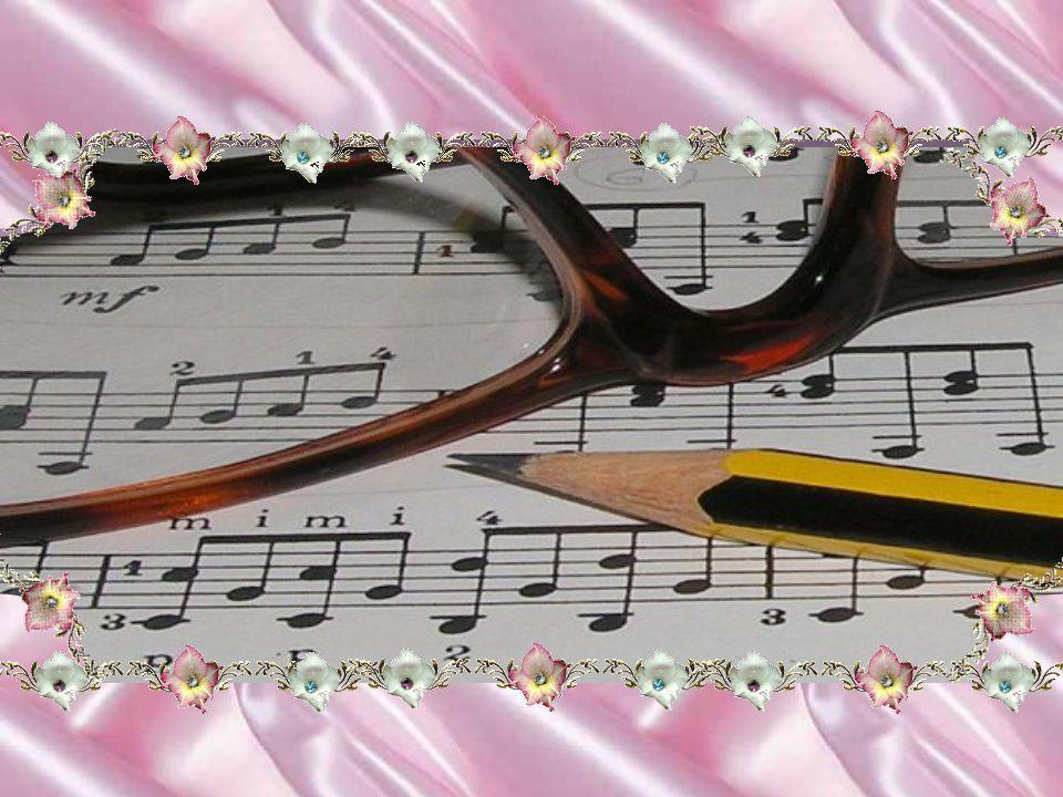 O que seria de nós se não existisse a música? Vejam que coisa fantástica a imensidão de acordes musicais, que se misturando e fluindo harmoniosamente