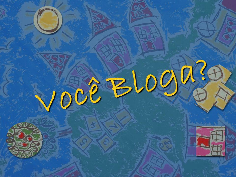 O uso pedagógico do Blog n Visando apresentar uma ferramenta diferente, com potencial para reinventar o trabalho pedagógico, os Blogs ajudam a construir redes sociais e redes de saberes.