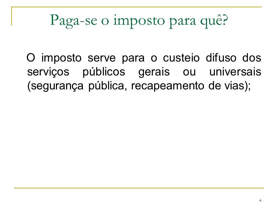 5 Princípio da não-afetação Nessa medida, a receita de impostos não poderá ser vinculada a órgão, fundo ou despesa, conforme dispõe o art.