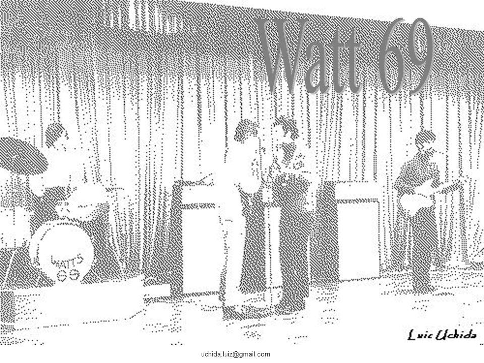 uchida.luiz@gmail.com Enquanto você estiver vendo os próximos slides vai ouvir um pequeno trecho das músicas dos conjuntos: THE BUTTONS – Whispering K