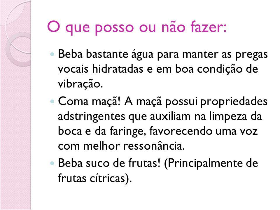Classificação Vocal HOMENS TENOR (Voz Aguda) BARÍTONO (Voz Média) BAIXO (Voz Grave) MULHERES SOPRANO (Voz Aguda) MEIO-SOPRANO ou MEZZO-SOPRANO (Voz Média) CONTRALTO (Voz Grave)