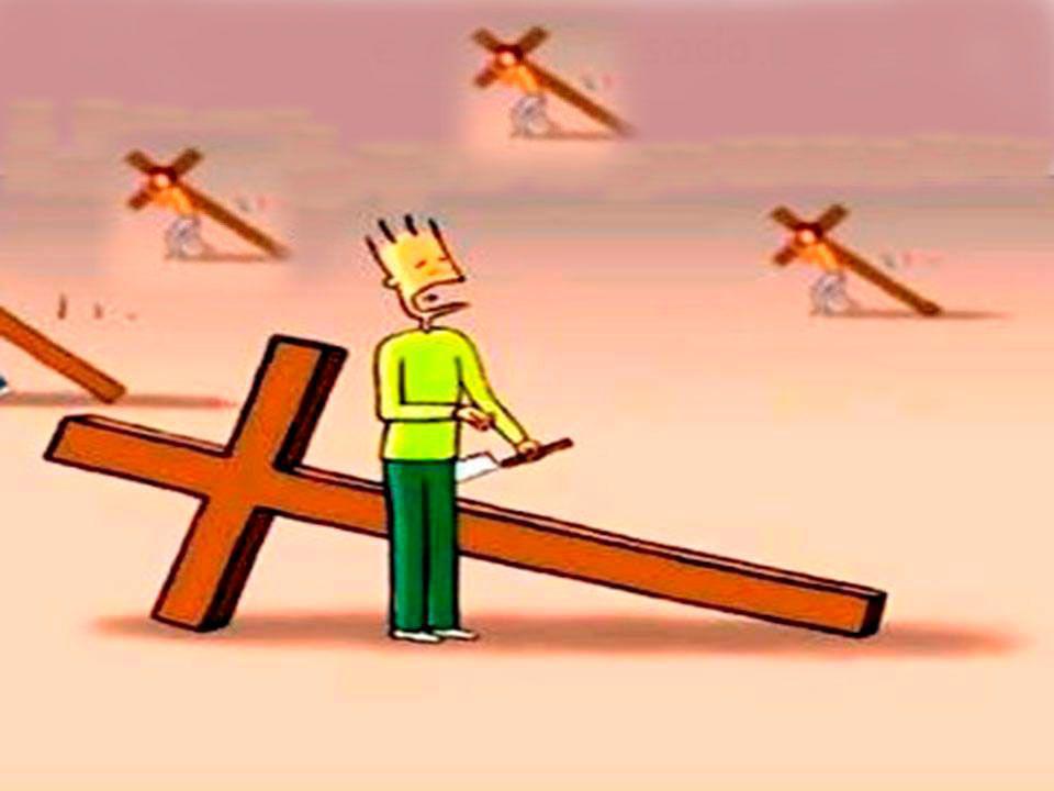 Mas o homem não entende os propósitos de Deus. E começa a buscar atalhos e facilidades que não são bem vistas por Deus e acha que é Ele que está o aju
