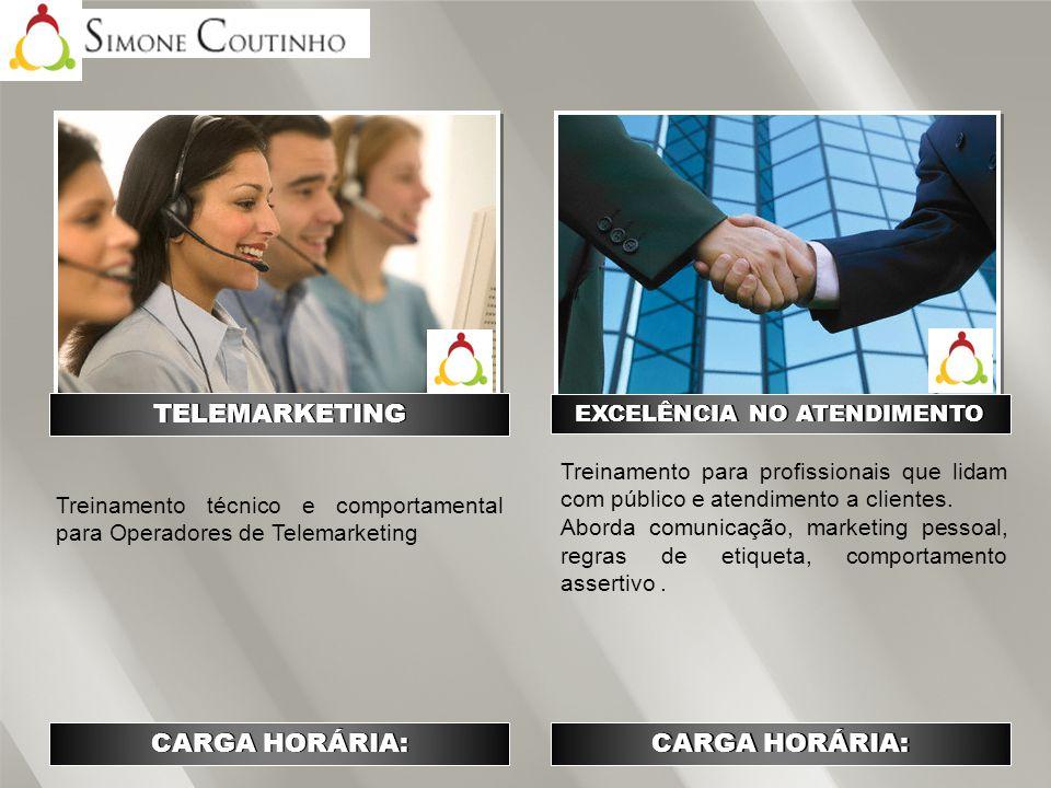 Treinamento que aborda todas as etapas da venda, bem como se tornar um Consultor de Vendas e fidelizá-lo.