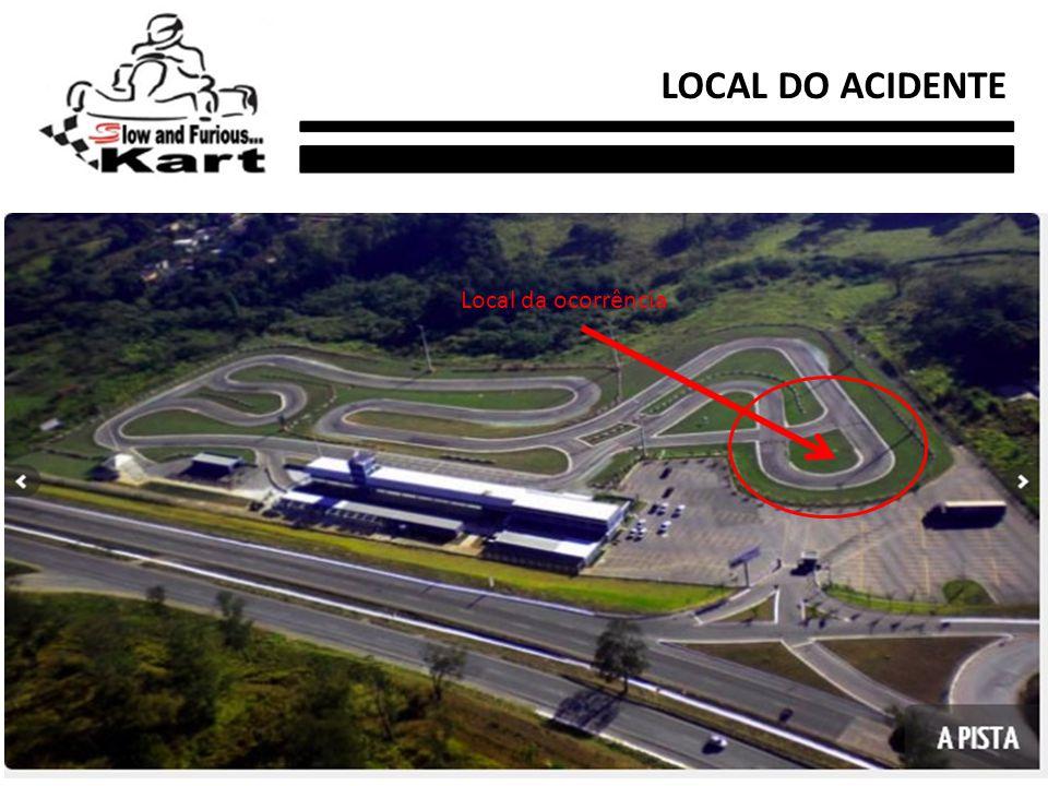 Local da ocorrência LOCAL DO ACIDENTE