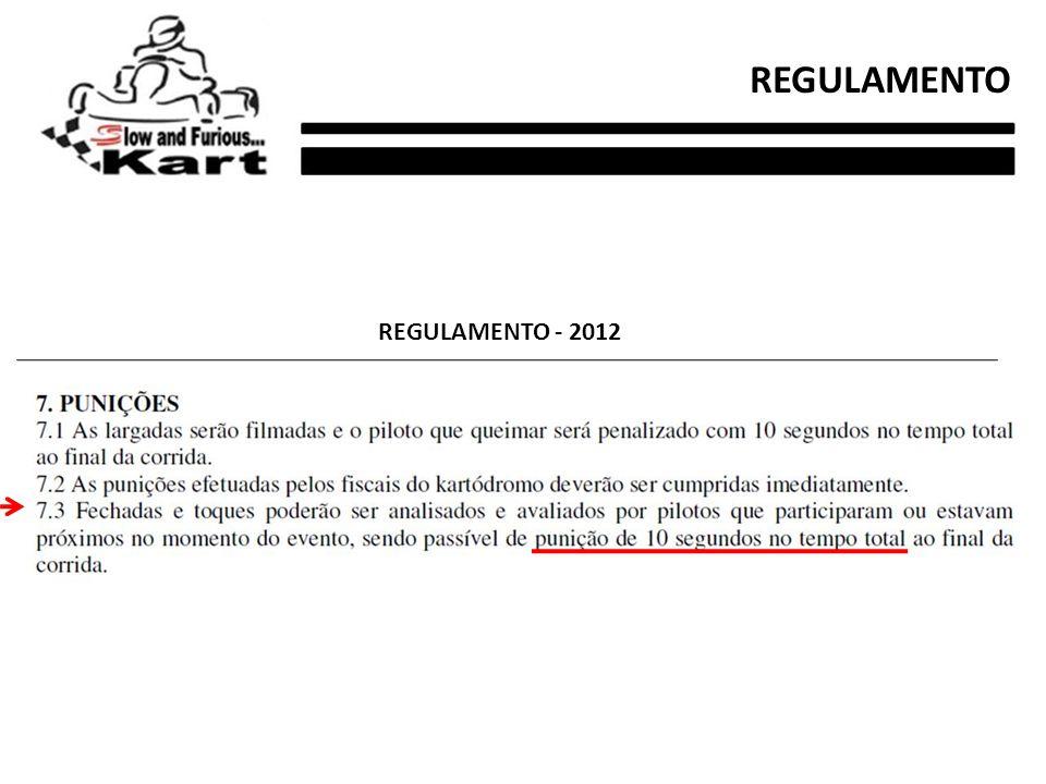 REGULAMENTO - 2012 REGULAMENTO
