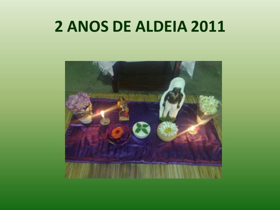 2 ANOS DE ALDEIA 2011