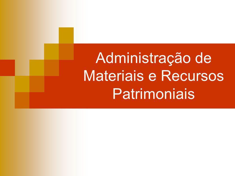 Administração de Materiais Conceito: administração de material é uma atividade que abrange a execução e gestão de todas as tarefas de suprimento, transporte e manutenção do material de uma organização.
