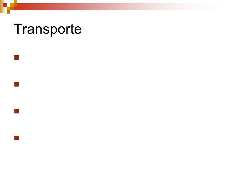 Transporte Parte que integra clientes e fornecedores a empresa Baixo desempenho compromete a atividade interna e externa da empresa Deve-se ter atençã