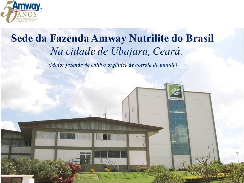 Sede da Fazenda Amway Nutrilite do Brasil Na cidade de Ubajara, Ceará. (Maior fazenda de cultivo orgânico de acerola do mundo)