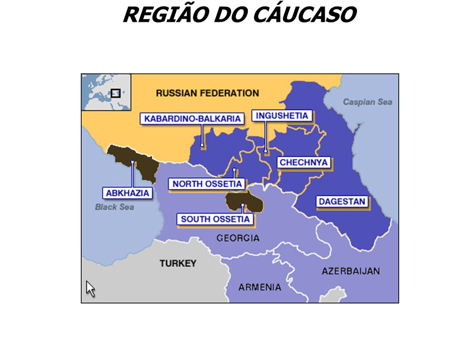 REGIÃO DO CÁUCASO