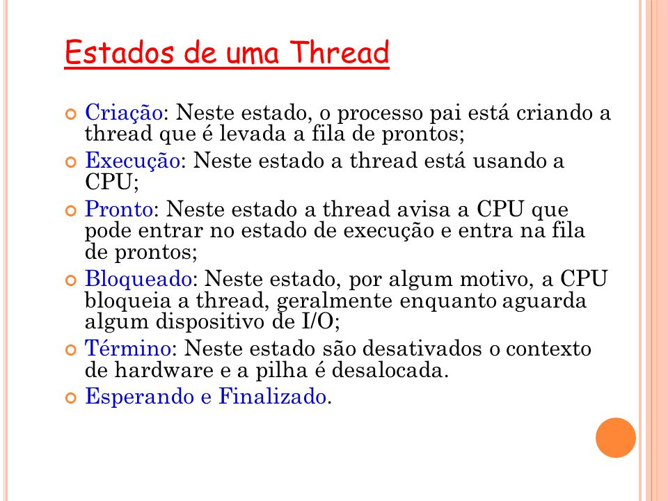 E XEMPLO DE THREADS E M JAVA public static void main(String[] args) throws Exception { AtomicBoolean stopped = new AtomicBoolean (false); BlockingQueue blockQueue = new ArrayBlockingQueue (5000); Sender sender = new Sender (stopped, blockQueue); Receiver rcver = new Receiver (stopped); blockQueue.add( Testando ); blockQueue.add( Essa ); blockQueue.add( Mer... ); new Thread(sender).start(); new Thread(rcver).start(); //stopped.set(true); } 18
