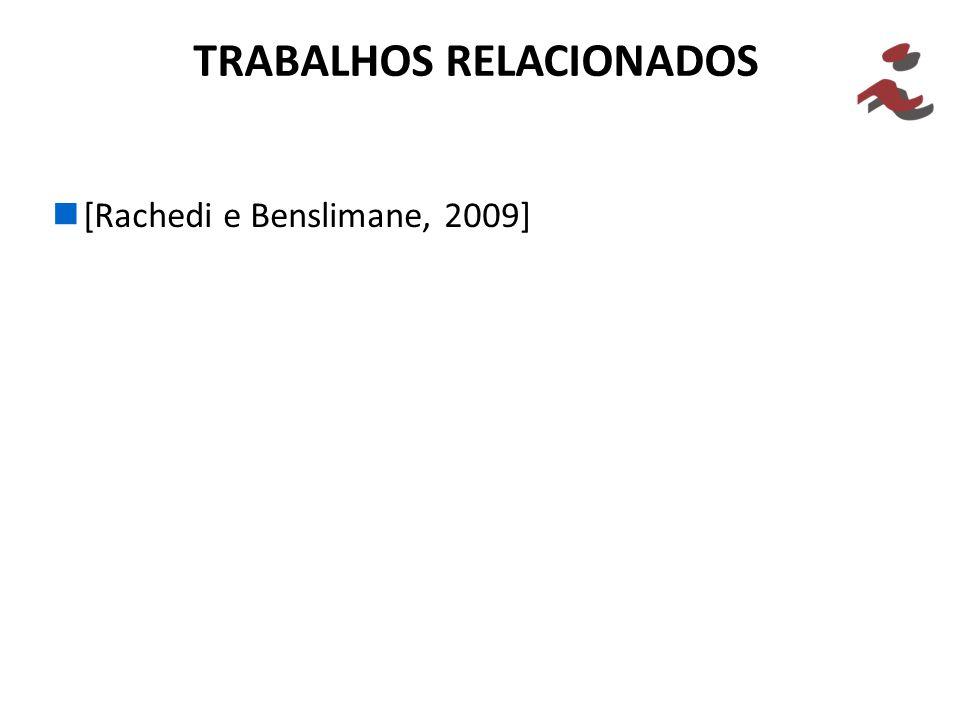 [Rachedi e Benslimane, 2009] TRABALHOS RELACIONADOS