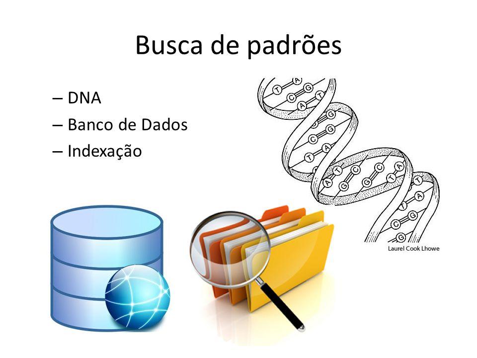 Busca de padrões – DNA – Banco de Dados – Indexação