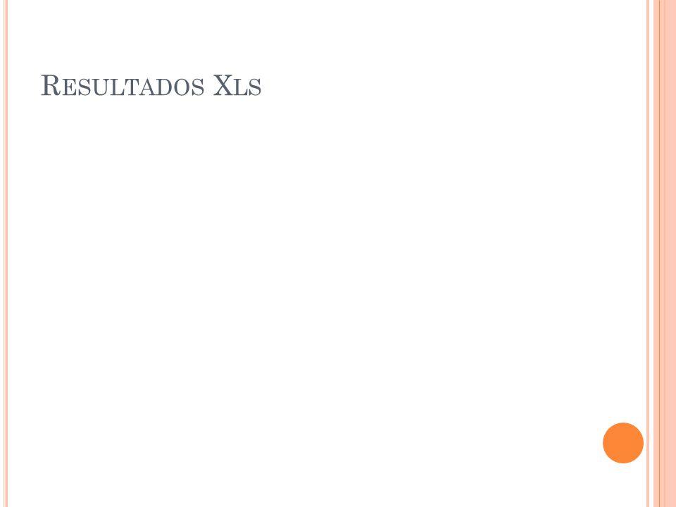 R ESULTADOS X LS