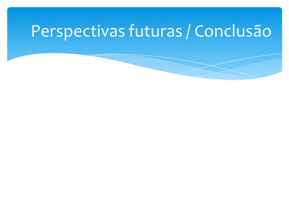 Perspectivas futuras / Conclusão
