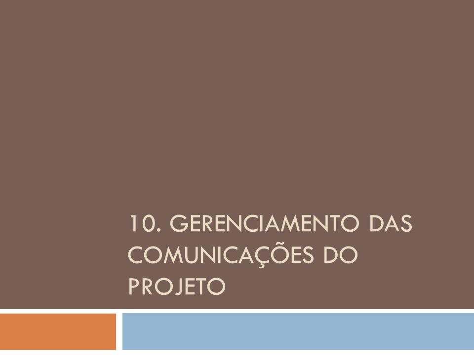 Ganhos para o projeto Um bom gerenciamento das partes interessadas traz: aumento de probabilidade do projeto não se desviar do curso.