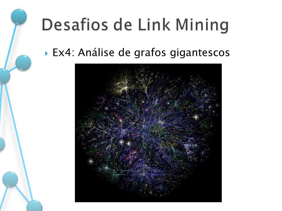 Ex4: Análise de grafos gigantescos