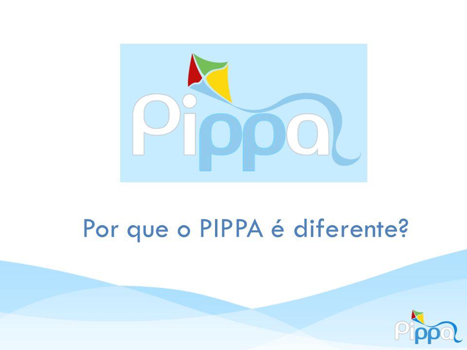 Por que o PIPPA é diferente?