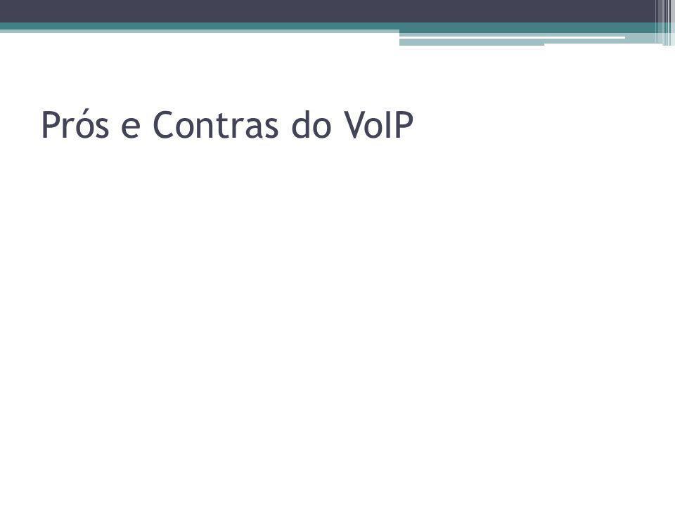 Prós e Contras do VoIP