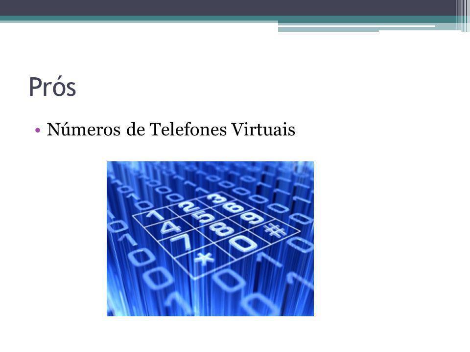 Prós Números de Telefones Virtuais