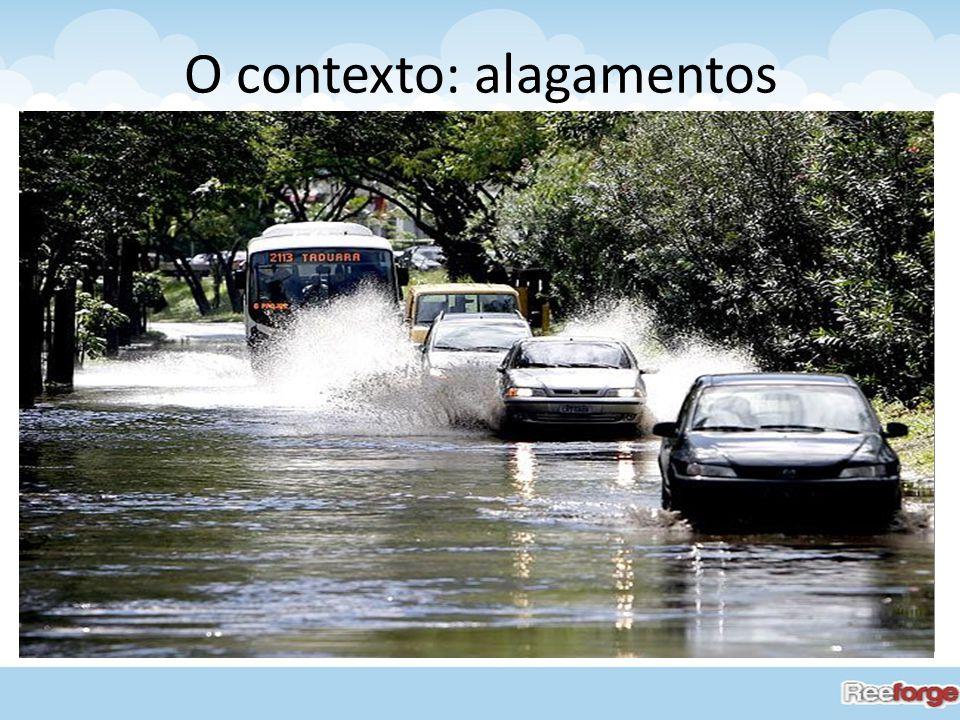 Segundo Pesquisa Nacional de Saneamento Básico, 40,8% dos municípios sofreu algum tipo de alagamento. O contexto: alagamentos