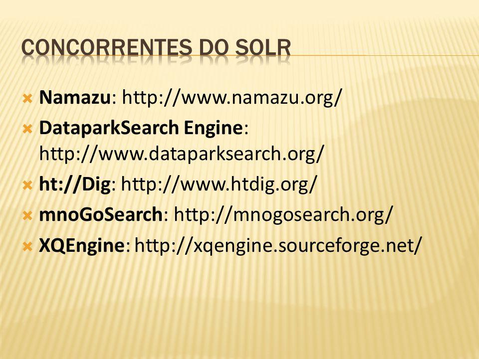 Namazu: http://www.namazu.org/ DataparkSearch Engine: http://www.dataparksearch.org/ ht://Dig: http://www.htdig.org/ mnoGoSearch: http://mnogosearch.o