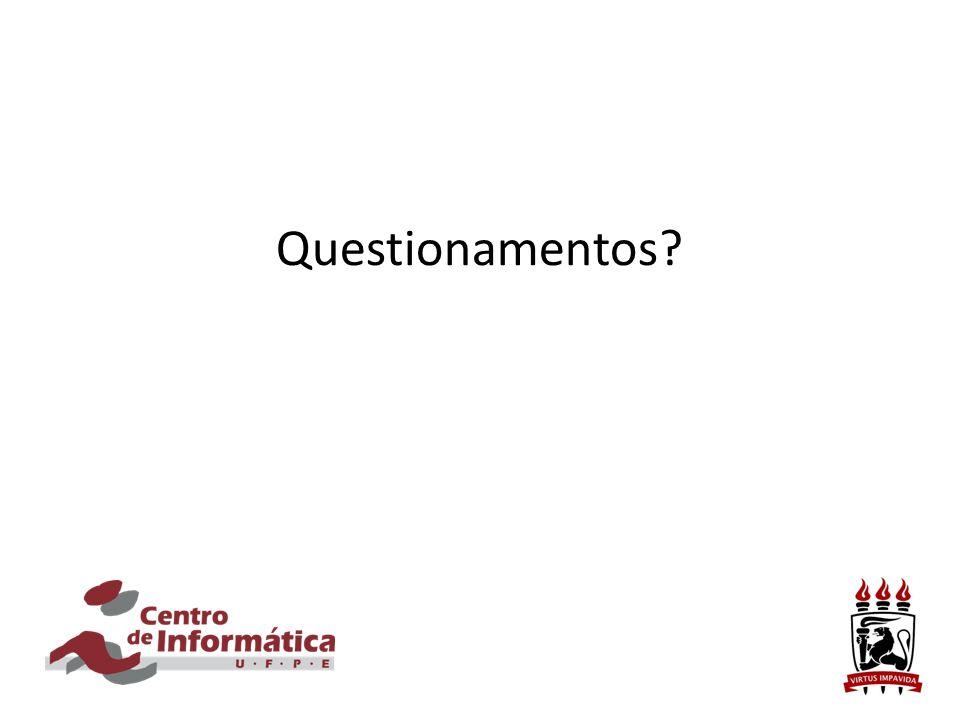 Questionamentos?