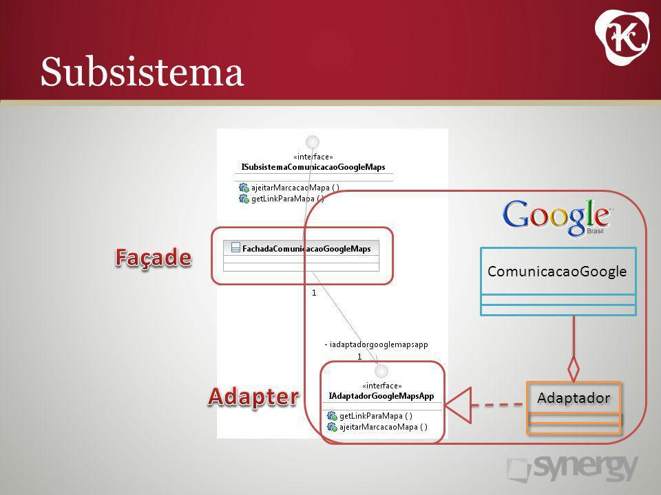 Subsistema Adaptador ComunicacaoGoogle