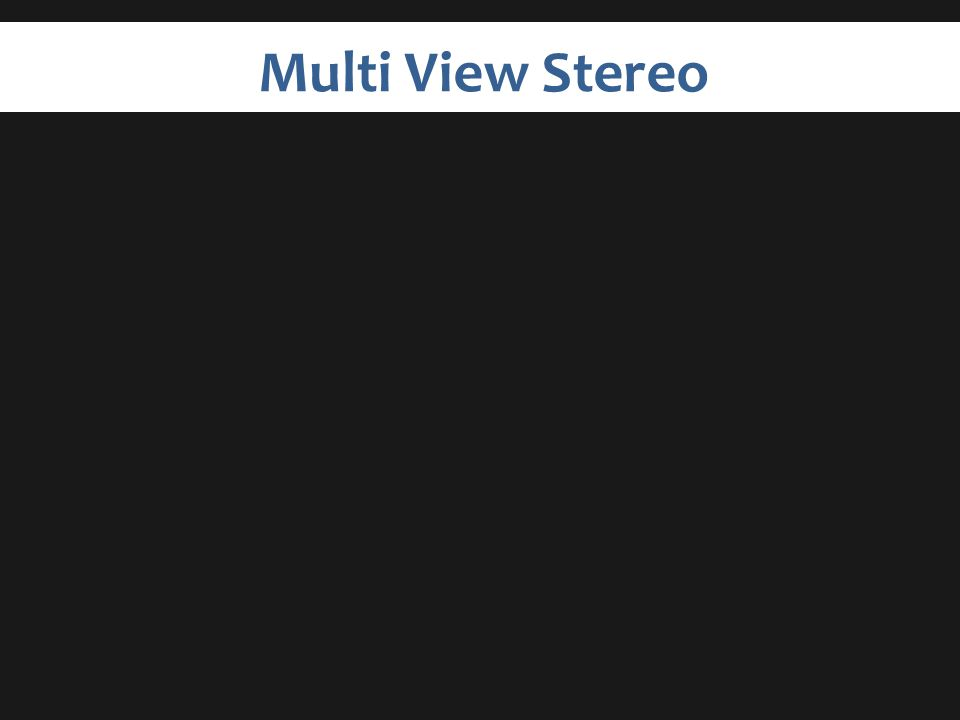Multi View Stereo
