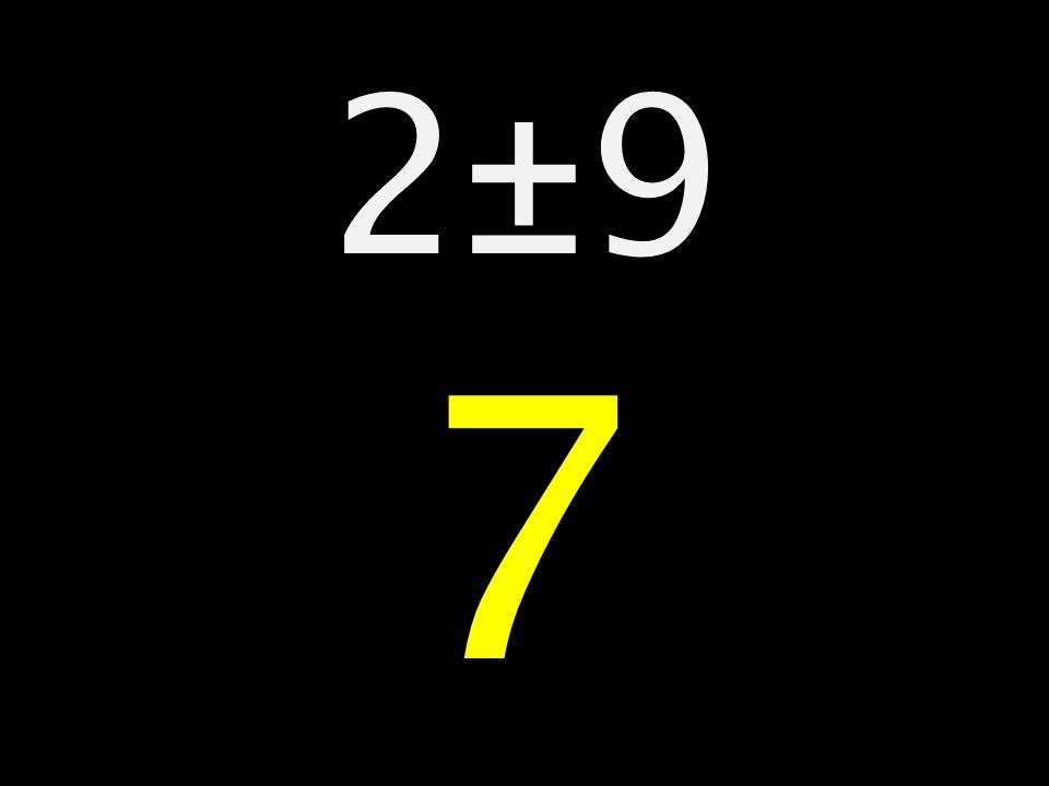 2±9 7