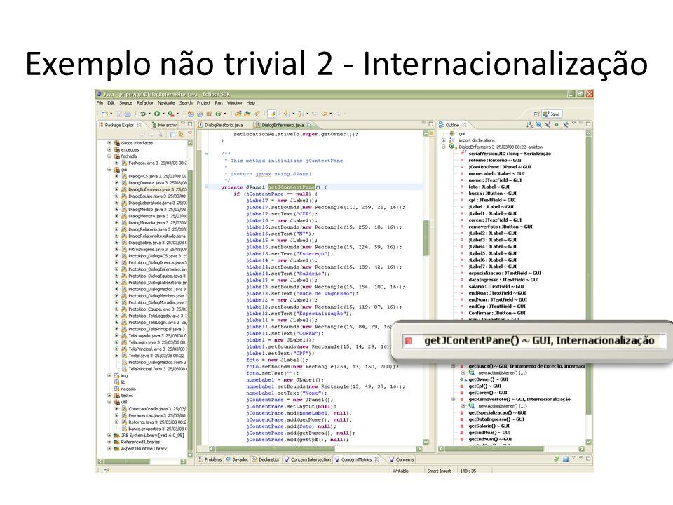 Exemplo não trivial 3 - Conversão