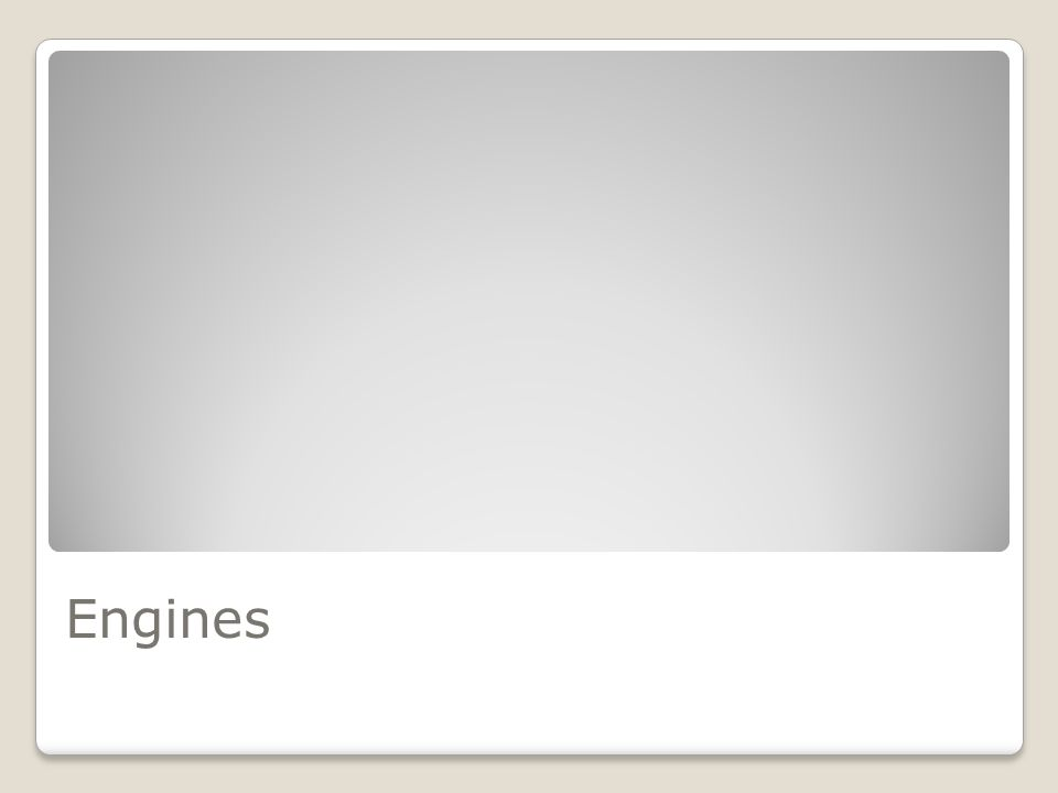 Torque X Editor de levels 2D Suporte 2D e 3D Detecção de colisão e Engine Física Oferece componentes reusáveis Licenças: Não-comercial (indie) Torque X Builder - $100 Torque X Pro (acesso ao código-fonte)- $150 Educacional – sem preços promocionais Fonte: Garage Games (http://www.garagegames.com/products/torque/x/)