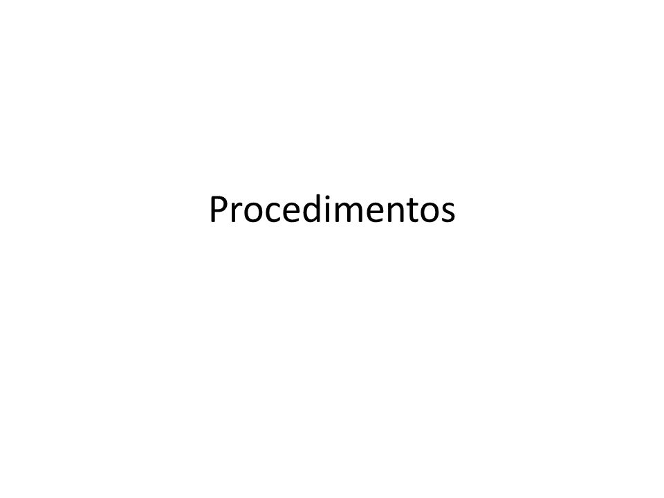Procedimentos em Pascal program Main; type...var...