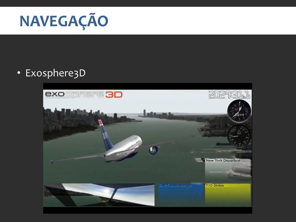 NAVEGAÇÃO Exosphere3D