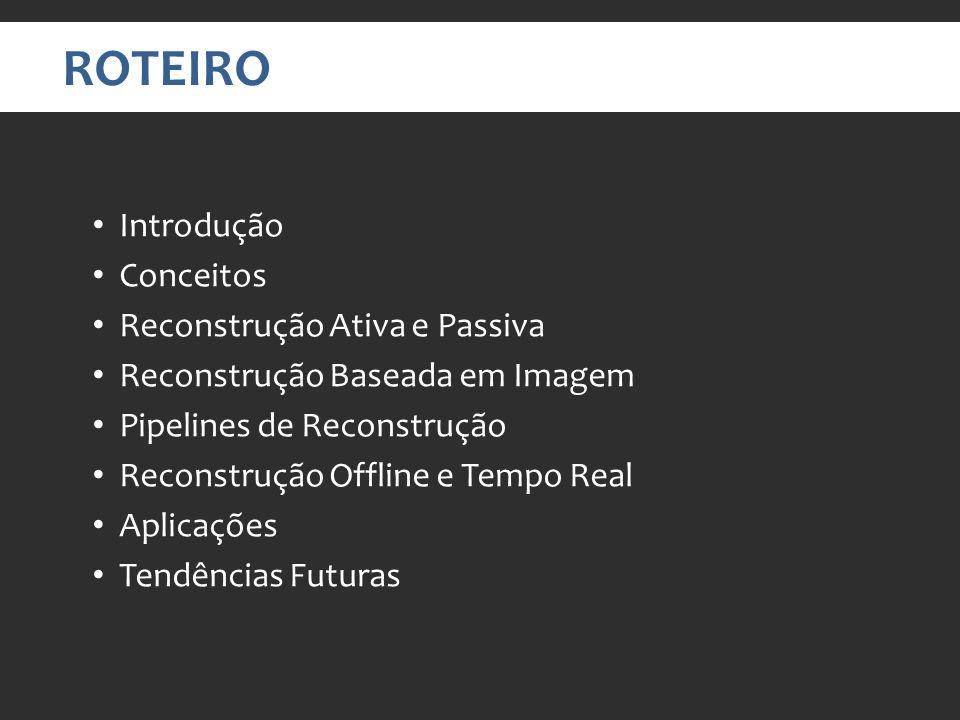 TÉCNICAS DE RECONSTRUÇÃO