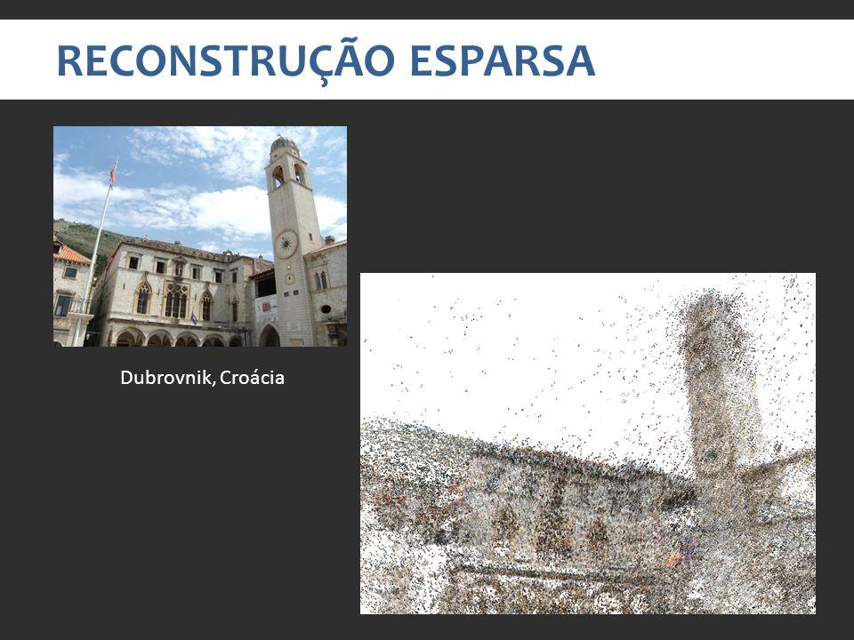 RECONSTRUÇÃO ESPARSA Dubrovnik, Croácia