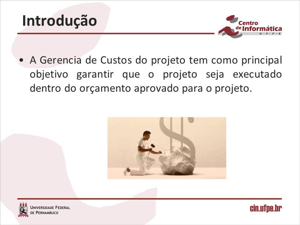 A Gerencia de Custos do projeto tem como principal objetivo garantir que o projeto seja executado dentro do orçamento aprovado para o projeto. Introdu