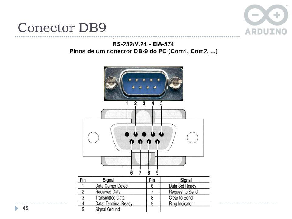 Conector DB9 45
