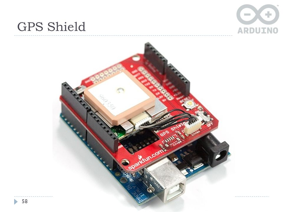 GPS Shield 58