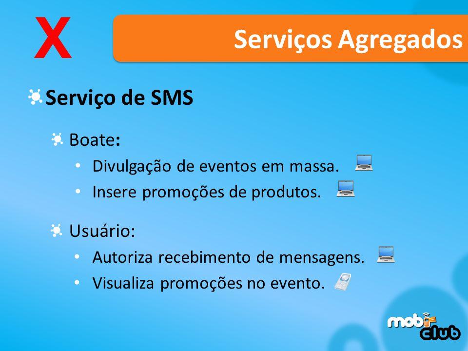 Serviço de SMS Boate: Divulgação de eventos em massa.