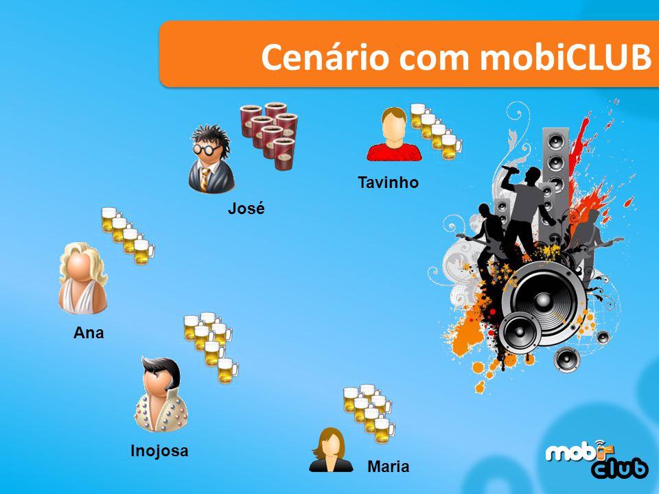 Tavinho Inojosa Maria Ana José Cenário com mobiCLUB