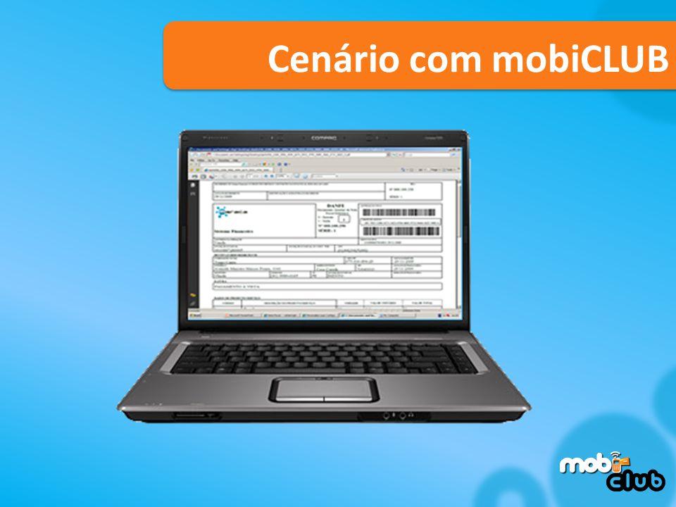 José Cenário com mobiCLUB