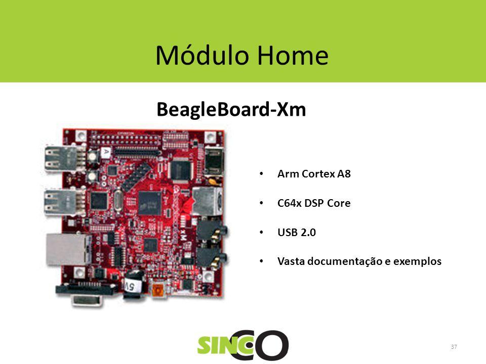 Módulo Home BeagleBoard-Xm Arm Cortex A8 C64x DSP Core USB 2.0 Vasta documentação e exemplos 37