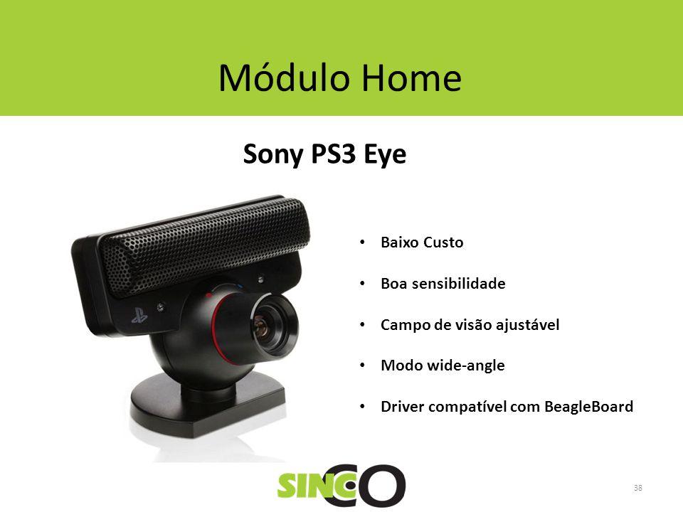 Módulo Home Sony PS3 Eye Baixo Custo Boa sensibilidade Campo de visão ajustável Modo wide-angle Driver compatível com BeagleBoard 38